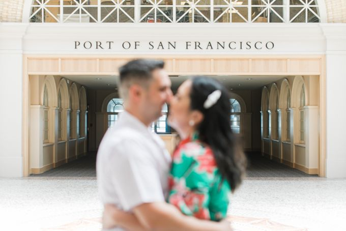 A Sunny San Francisco California Engagement Session by Foreveryday Photography - 017
