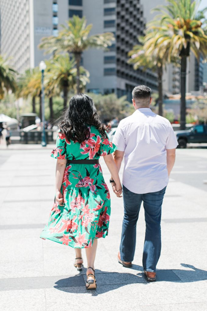 A Sunny San Francisco California Engagement Session by Foreveryday Photography - 021