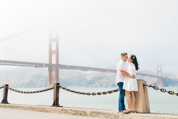 A Sunny San Francisco California Engagement Session by Foreveryday Photography - 025
