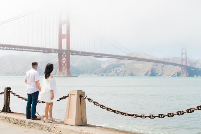 A Sunny San Francisco California Engagement Session by Foreveryday Photography - 026