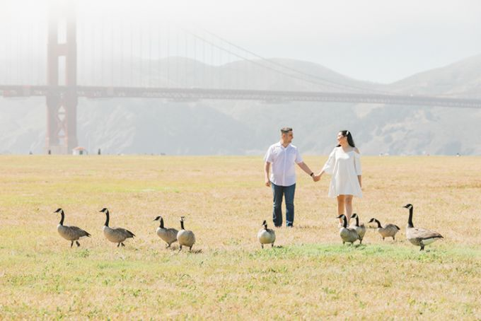 A Sunny San Francisco California Engagement Session by Foreveryday Photography - 028