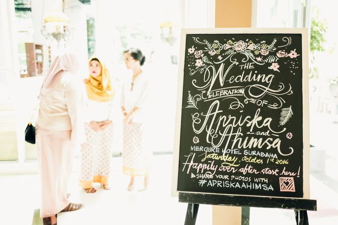 The Intimate Wedding Party of Apriska & Ahimsa by Abirupa Wedding Planner - 004