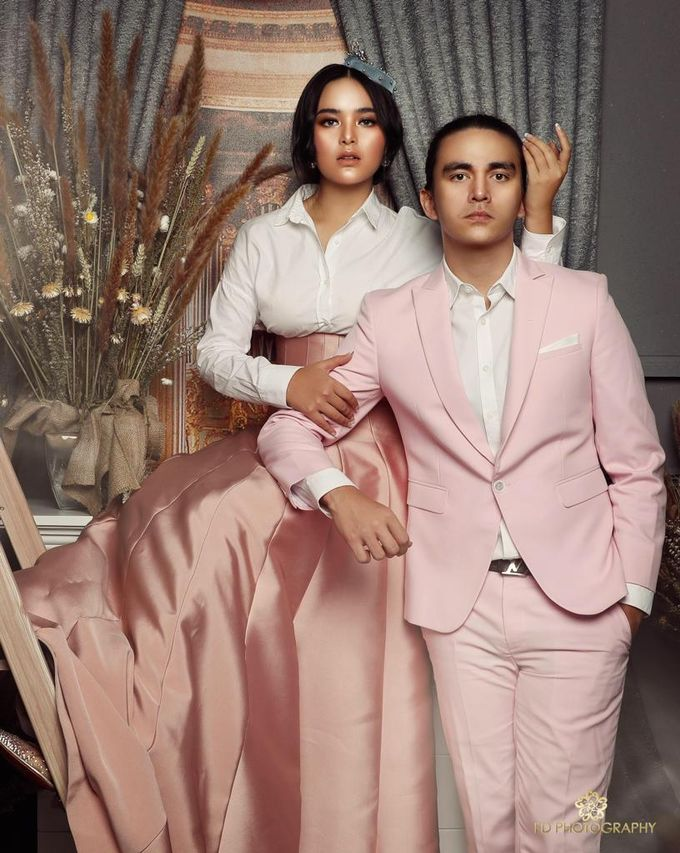 photoshoot of christ Laurent & Amanda manopo by SAS designs - 002