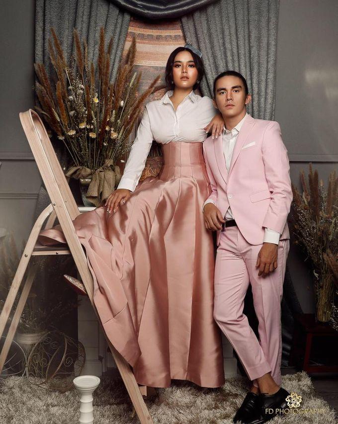 photoshoot of christ Laurent & Amanda manopo by SAS designs - 003