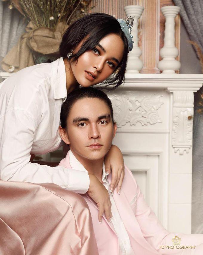 photoshoot of christ Laurent & Amanda manopo by SAS designs - 006