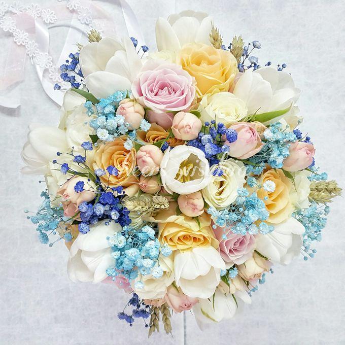 WEDDING BOUQUET  by visylviaflorist - 017