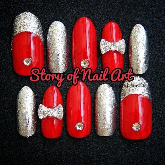 Fake Nails by Story of Nailart - 011