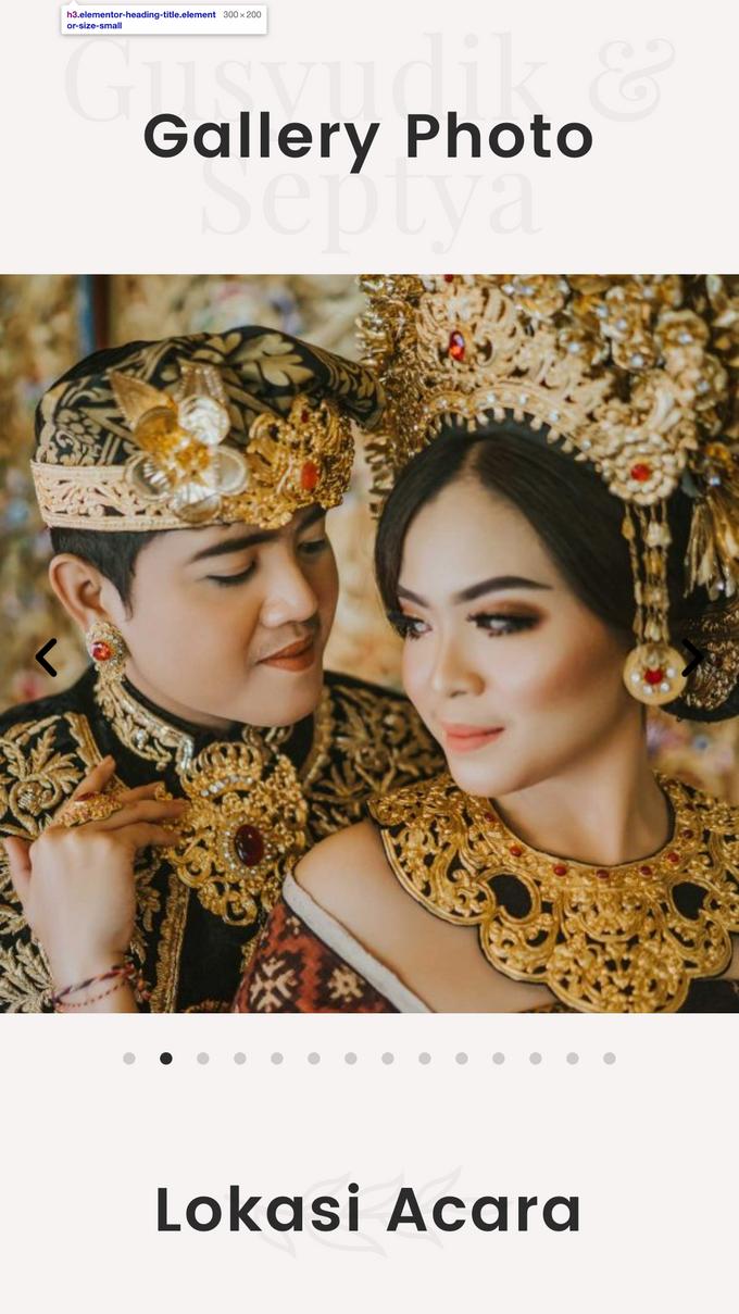 Gusyudik & Septya Wedding - Undangan Online Desain Pramana by Acarakami.com - 004