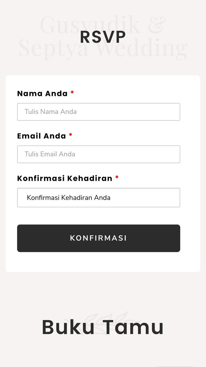 Gusyudik & Septya Wedding - Undangan Online Desain Pramana by Acarakami.com - 005