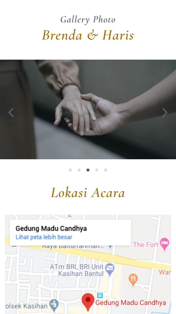 Brenda & Haris Wedding - Undangan Online Desain Mantra by Acarakami.com - 003