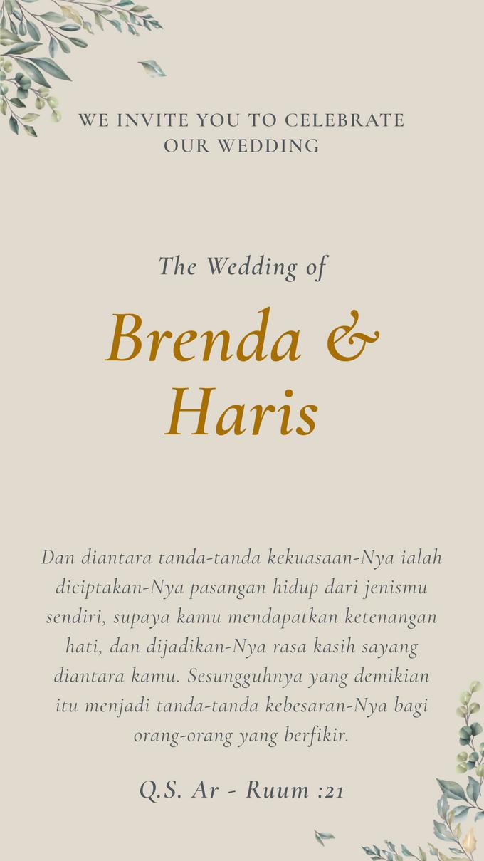 Brenda & Haris Wedding - Undangan Online Desain Mantra by Acarakami.com - 005