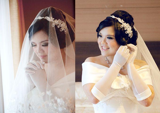 Adrian & Widi Wedding by Marcelline Vony MUA - 003