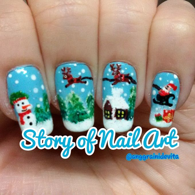 Painting Nails by Story of Nailart - 010