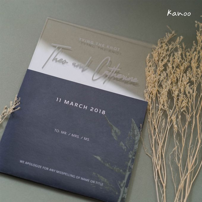 Wedding Invitation - You can see me by Kanoo Paper & Gift - 002