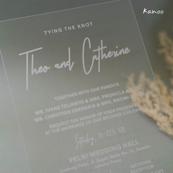 Wedding Invitation - You can see me by Kanoo Paper & Gift - 004