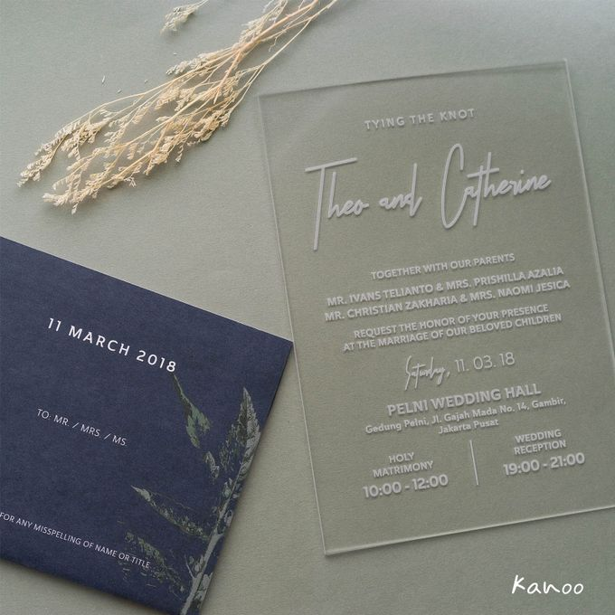 Wedding Invitation - You can see me by Kanoo Paper & Gift - 005