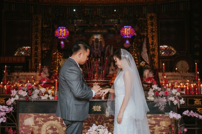 Steven & Catherin Wedding at Aston Cirebon by PRIDE Organizer - 004