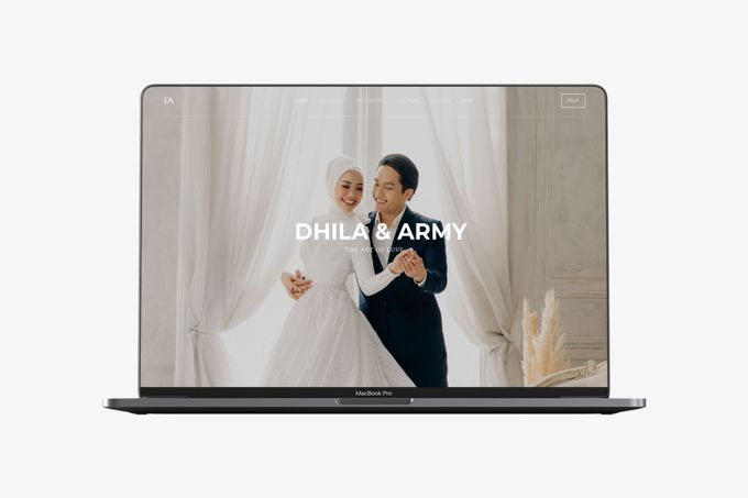 WEDDING WEBSITE - ARMY & DHILA by Our Days & Co - Wedding Website Design - 002