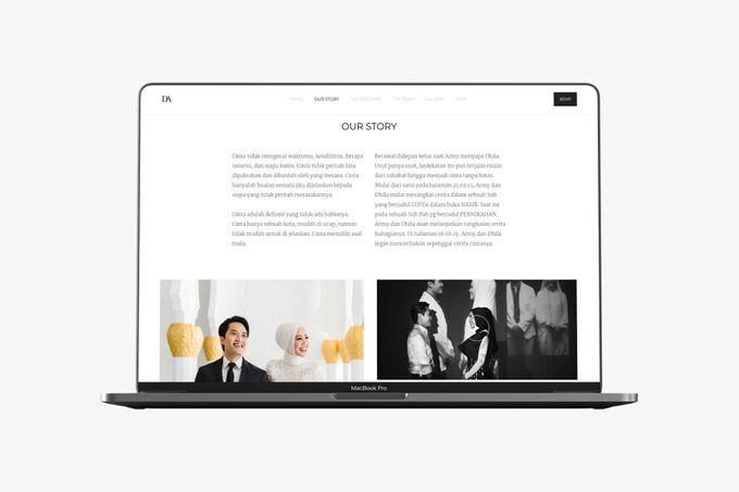 WEDDING WEBSITE - ARMY & DHILA by Our Days & Co - Wedding Website Design - 004