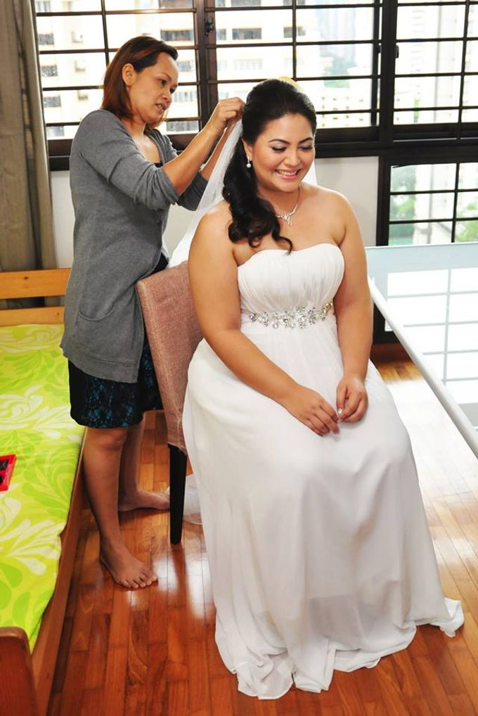 Actual Day  Donovan and Joy by Something Simple Wedding Photography - 004