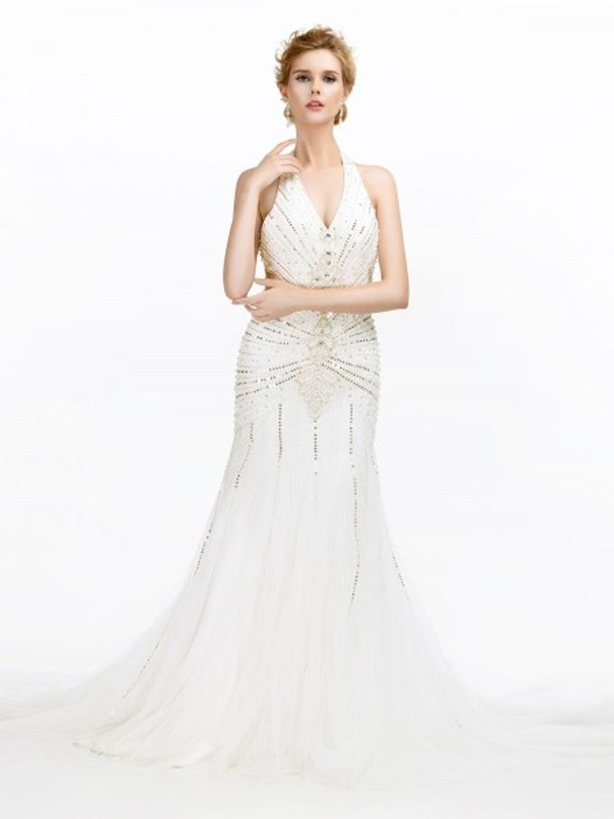 Brides Gown by AWEI Bridal - 001