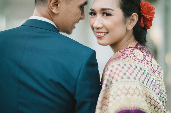 Adrian & Desi Wedding Day by THE TRIBRATA Darmawangsa Jakarta - 026