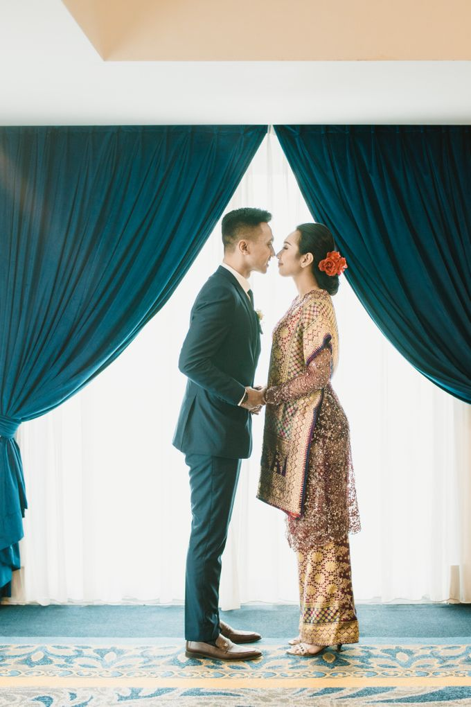 Adrian & Desi Wedding Day by THE TRIBRATA Darmawangsa Jakarta - 001