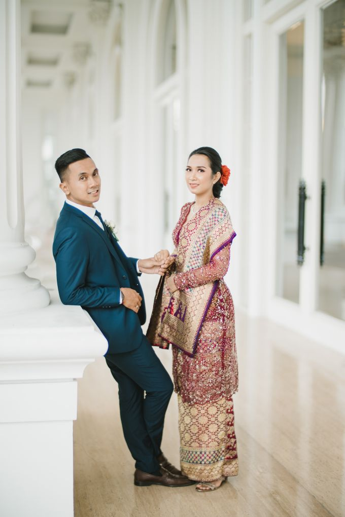 Adrian & Desi Wedding Day by THE TRIBRATA Darmawangsa Jakarta - 017