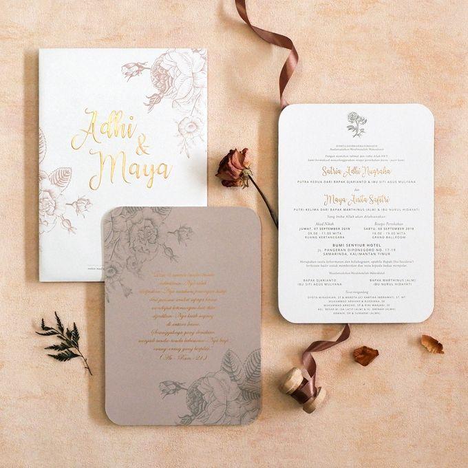 Adhi & Maya by Meltiq Invitation - 005