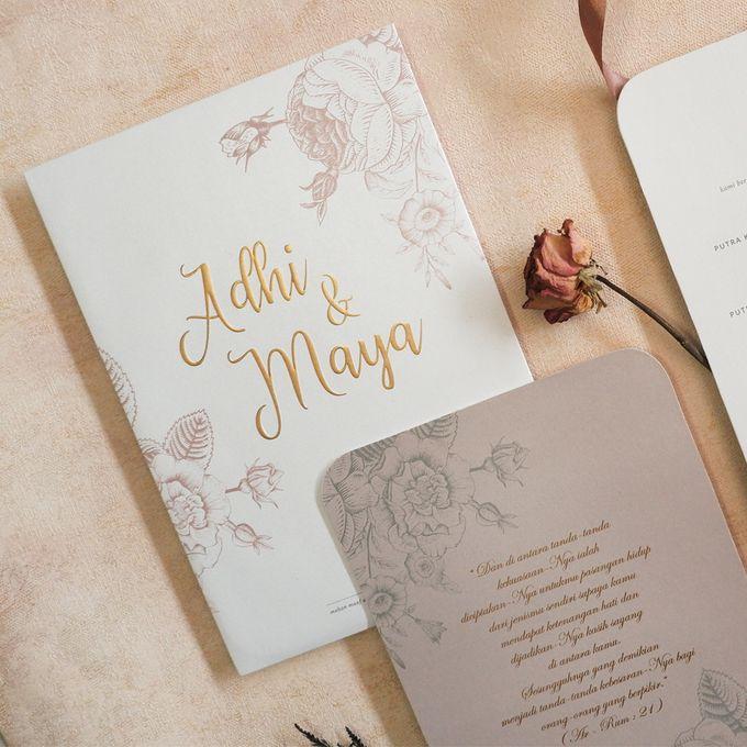 Adhi & Maya by Meltiq Invitation - 001