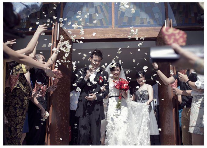 The Wedding of Marcelia & Anton by Ahava by Bona Soetirto - 001