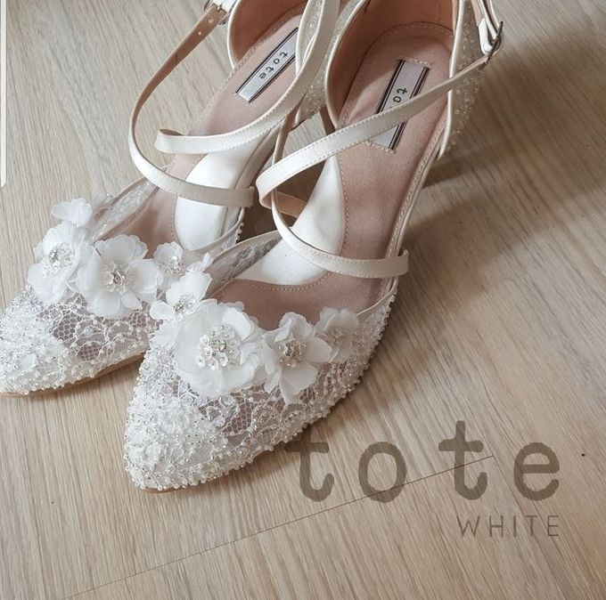 Tote White Portfolios by toteshoes - 010