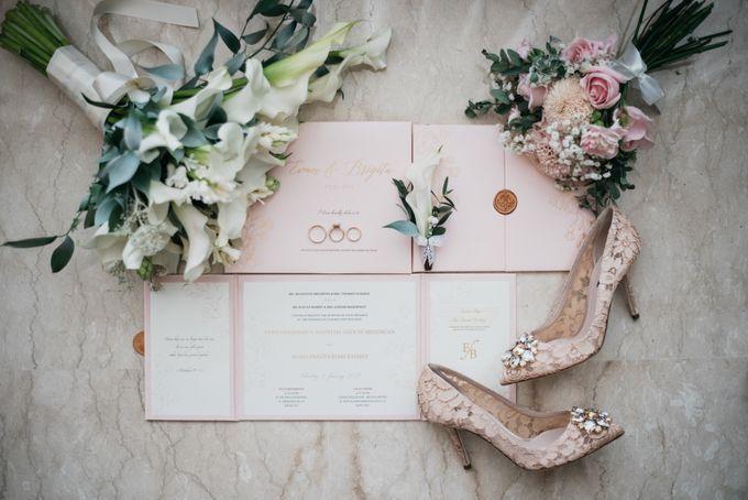 Evan & Brigita Wedding at Hilton by PRIDE Organizer - 001