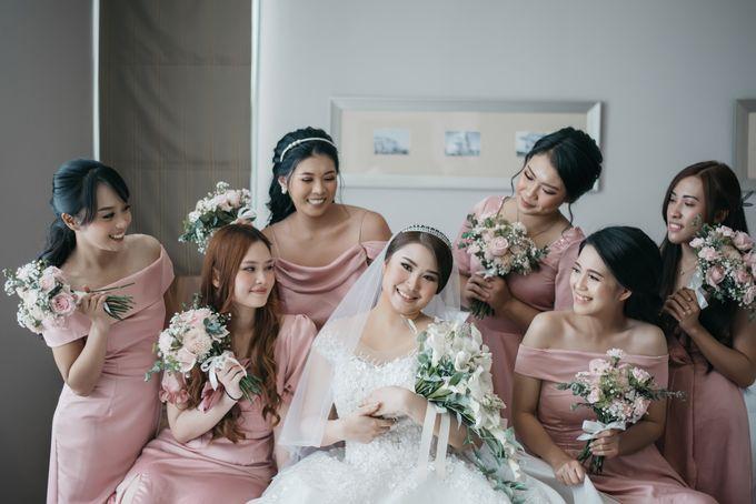 Evan & Brigita Wedding at Hilton by PRIDE Organizer - 006