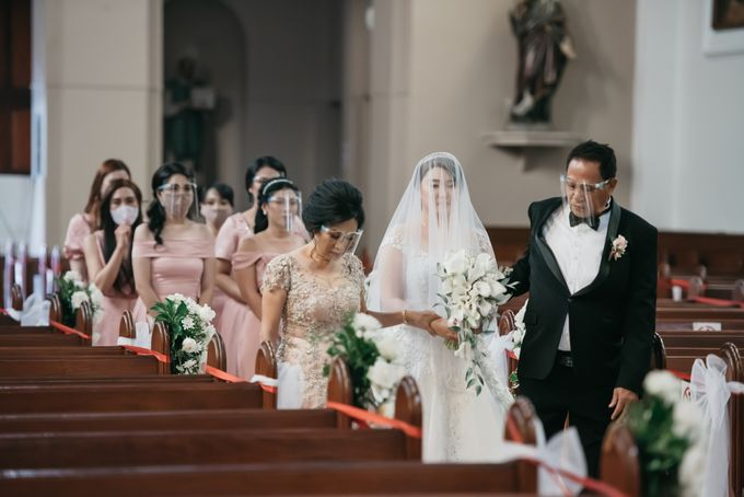 Evan & Brigita Wedding at Hilton by PRIDE Organizer - 012