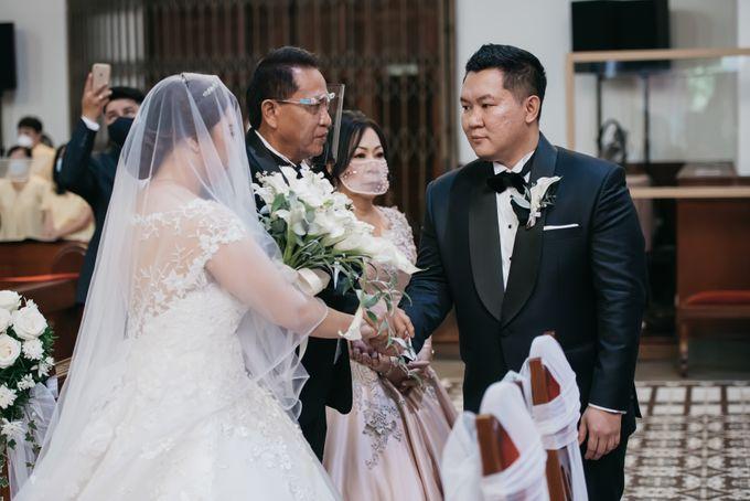 Evan & Brigita Wedding at Hilton by PRIDE Organizer - 013