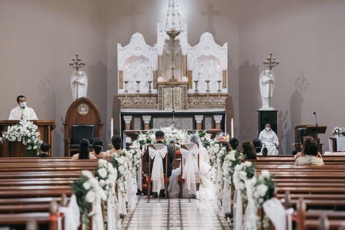 Evan & Brigita Wedding at Hilton by PRIDE Organizer - 016