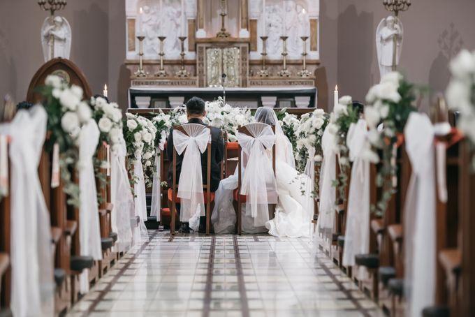 Evan & Brigita Wedding at Hilton by PRIDE Organizer - 015