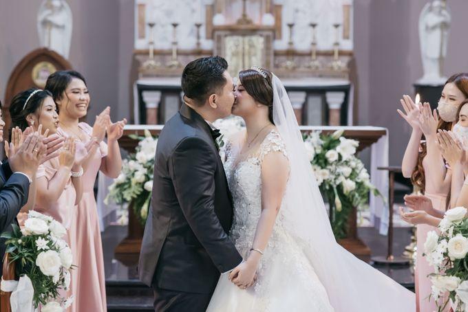 Evan & Brigita Wedding at Hilton by PRIDE Organizer - 018