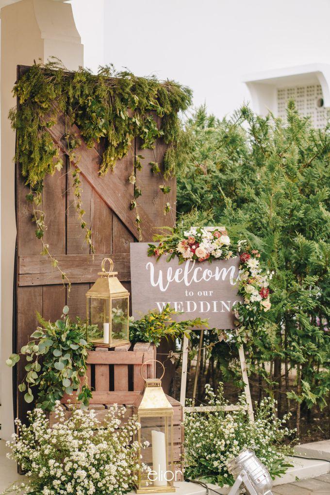 The Wedding of Adrian & Viola by Elior Design - 018