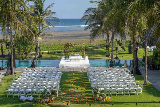 Beautifully Wedding by The Beach by Konsep Sejiwa - 014