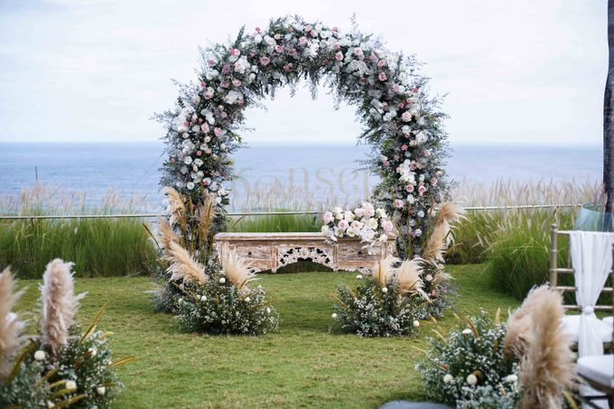 Cliff Wedding Decoration by Konsep Sejiwa - 003