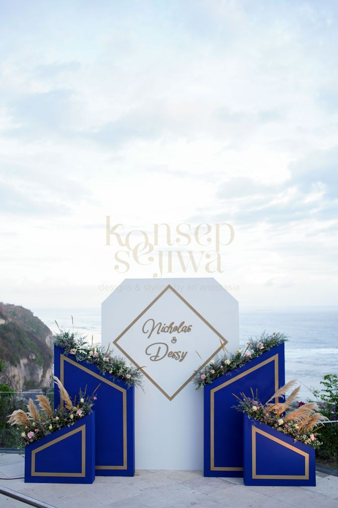 Cliff Wedding Decoration by Konsep Sejiwa - 008
