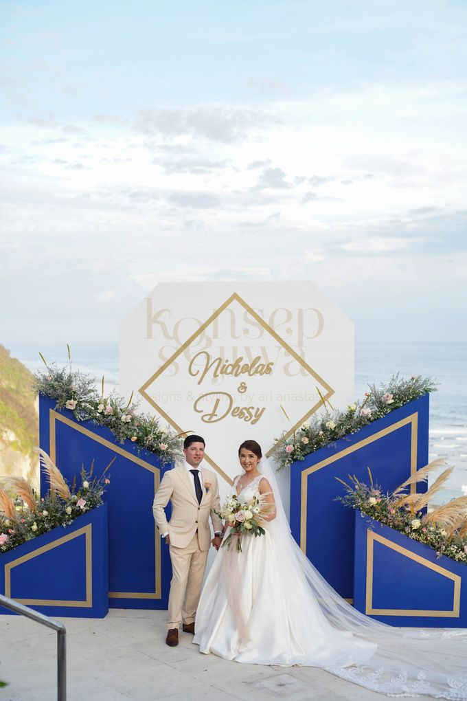 Cliff Wedding Decoration by Konsep Sejiwa - 011