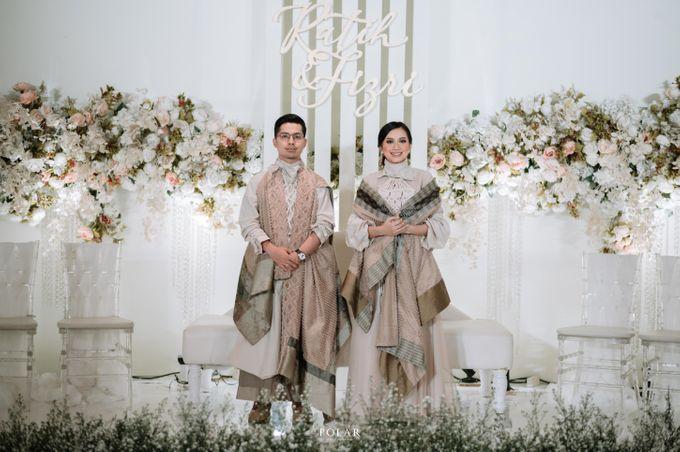 Ratih & Fizry Wedding Decoration by Valentine Wedding Decoration - 045