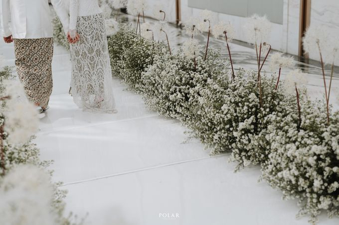 Adit & Citias Akad Decoration by Valentine Wedding Decoration - 018
