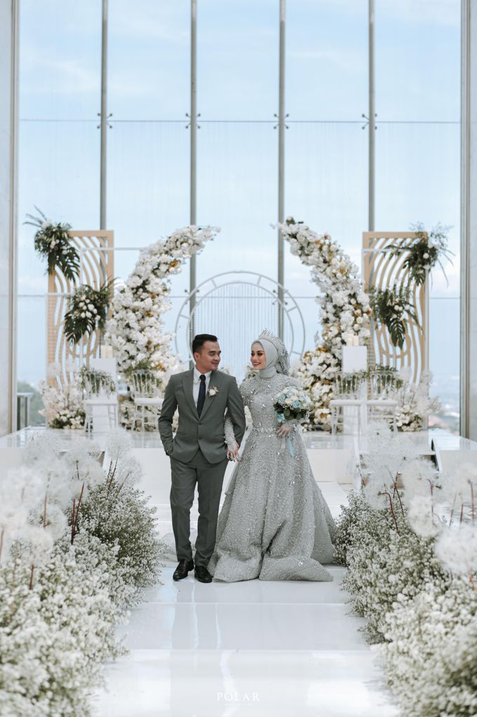 Adit & Citias Akad Decoration by Valentine Wedding Decoration - 021