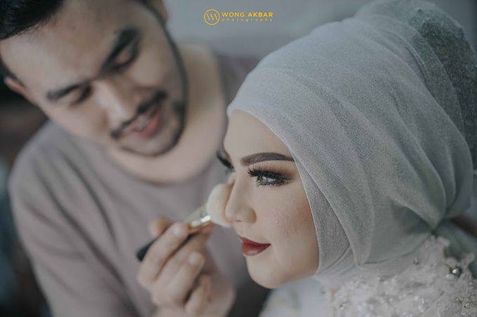 The Sacred moment of Nadia & Didit Akad by Wong Akbar Photography - 001