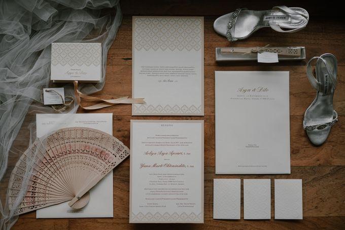 Asya & Dito Wedding by Financial Club Jakarta - 009