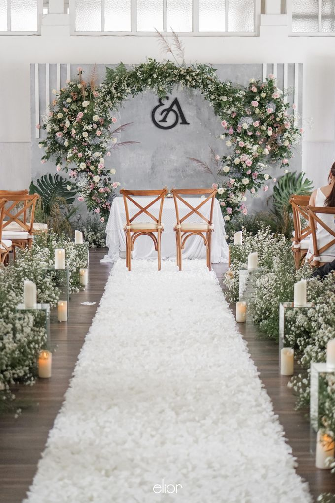 The Wedding Of Eric and Aska by Elior Design - 001